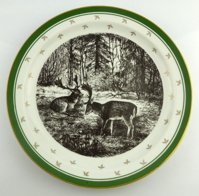 Geschenkteller: DDR Staatsjagd Jagdwesen Made in GDR, so242