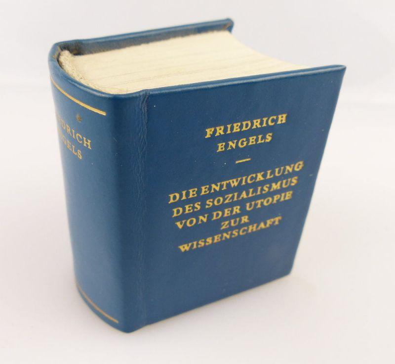Minibuch : Friedrich Engels Von der Utopie zur Wissenschaft Dietz Verlag e272
