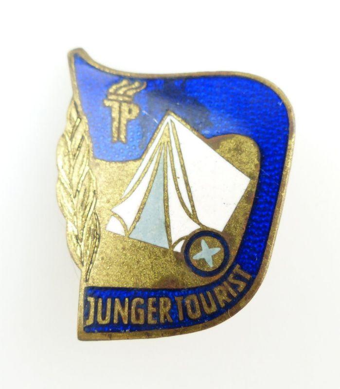 #e2494 Touristenabzeichen 1950-54 Junger Tourist JP DDR Abzeichen (10-12 Jahre)