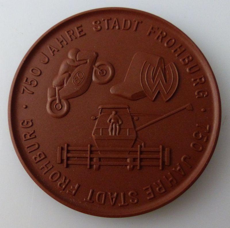 Meissen Medaille: 750 Jahre Stadt Frohburg 1233-1983, Orden2729