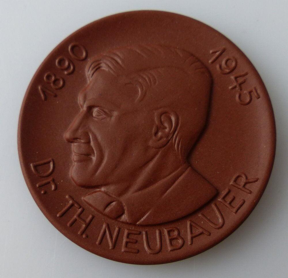 Meissen Medaille: Dr. Th. Neubauer 1890-45 Akademie der pädagogischen, Orden2728