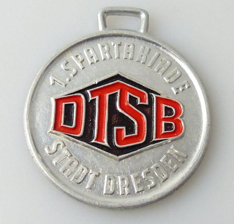 Medaille : DTSB 1. Spartakiade Stadt Dresden 1964 / r481