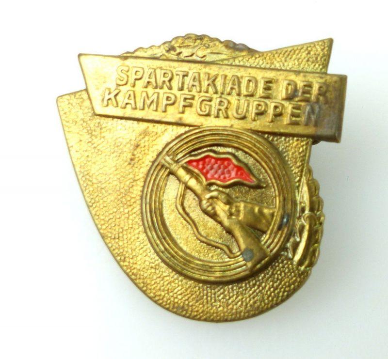 DDR Abzeichen: Spartakiade der Kampfgruppen e1677