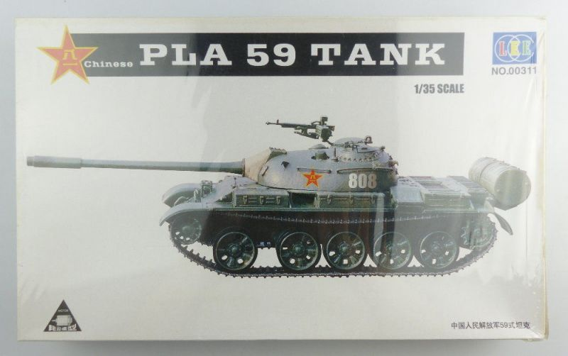 #e3234 OVP Modellbausatz mit Motor LEE no.00311 Maßstab 1:35 chinesischer Panzer