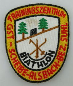 GST Abzeichen GST Trainingszentrum Scheibe Alsbach Bezirk Suhl Ausbildun GST594