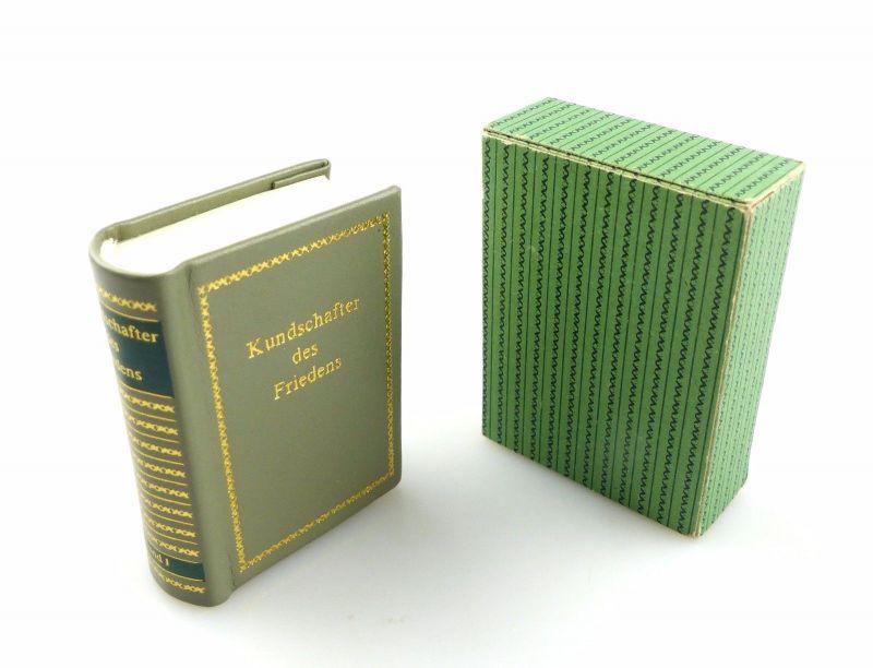 #e5436 Minibuch: Kundschafter des Friedens Band I Offizin Andersen Nexö Leipzig
