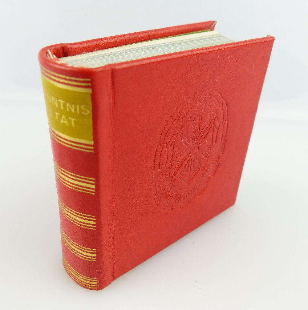 Minibuch: Bekenntnis und Tat 1979 Verlag Zeit im Bild e264