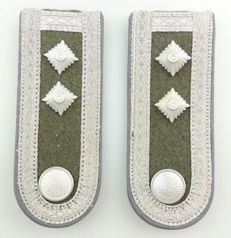 #e3588 1 Paar DDR NVA Schulterstücke Luftverteidigung Oberfeldwebel Nr. 418 b