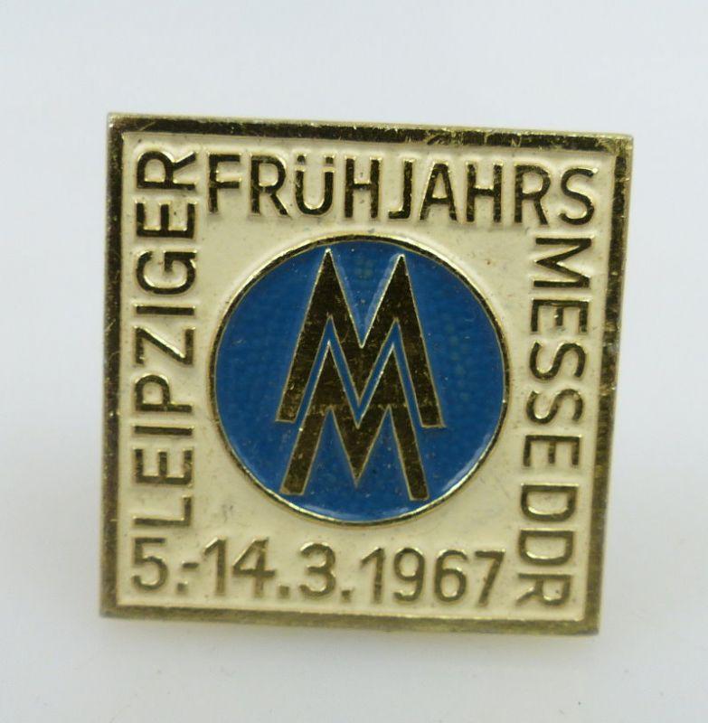 Abzeichen: Leipziger Frühjahrsmesse DDR 5. - 14.3.1967 bu0798