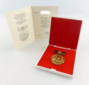 #e7644 Ehrenmedaille 30. Jahrestag der DDR aus Nachlass Generaldirektor Zentrag