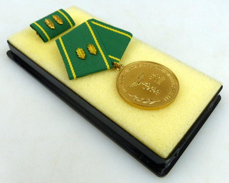 Medaille treue Dienste Zollverwaltung der DDR Gold 25 Jahre Dienstzeit Orden1289