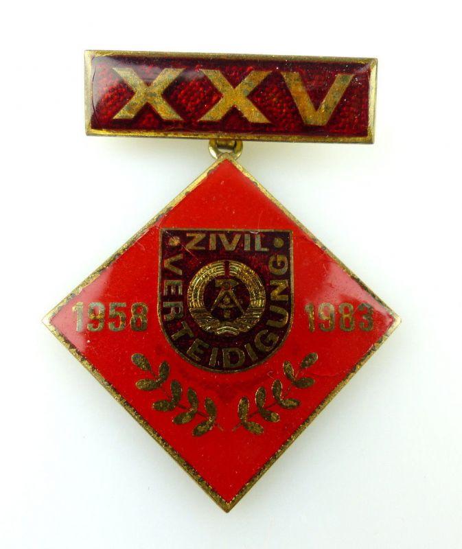 #e2464 Ehrenzeichen zum 25. Jahrestag der ZV DDR Abzeichen Band II Nr.676a