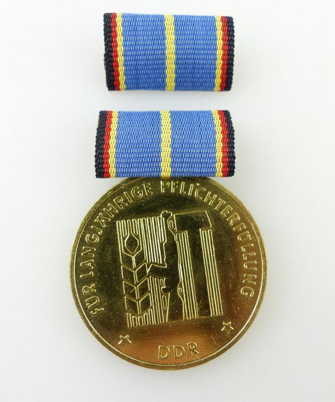 #e2461 Medaille für langjährige Pflicherfüllung, Landesverteidigung DDR Nr.254