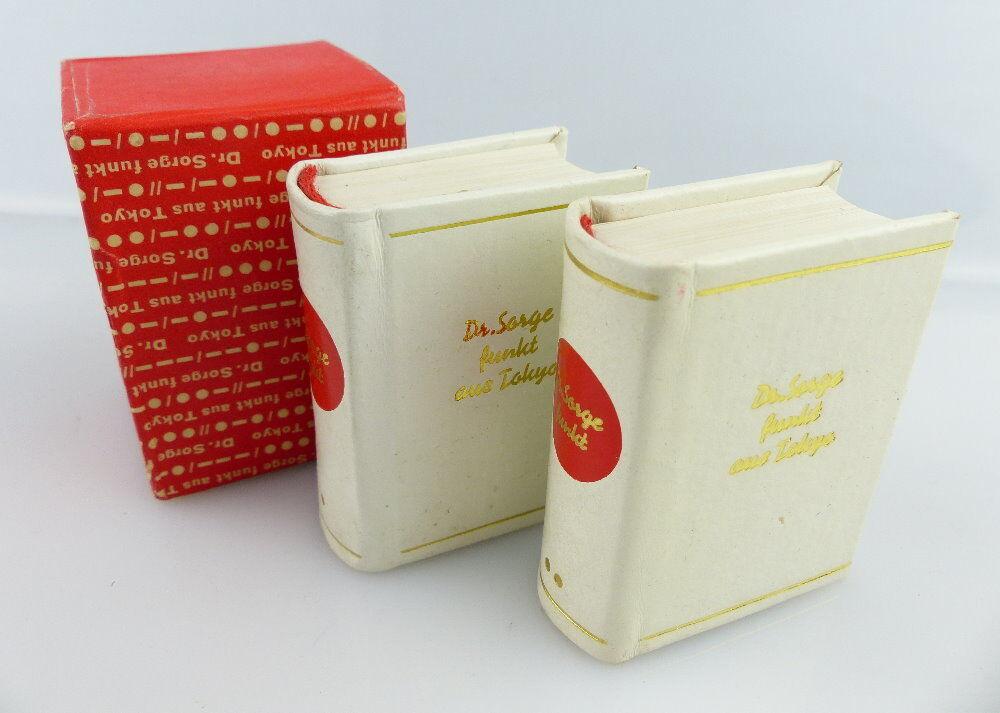2 Minibücher: Dr. Sorge funkt aus Tokyo Dr. Richard Sorge e239