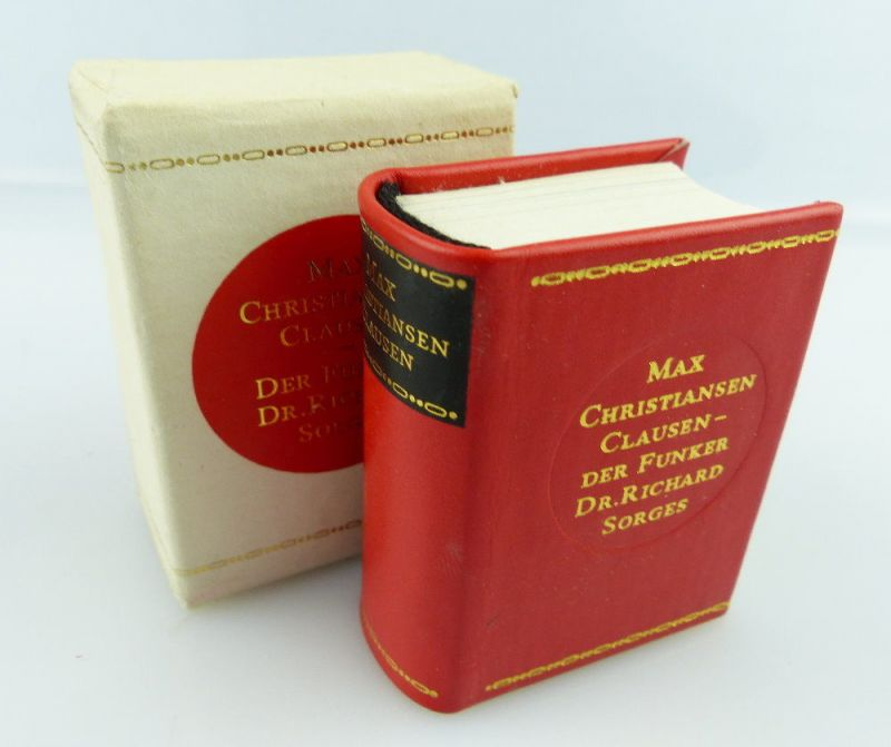 Minibuch: Max Chrisiansen Clausen Der Funker Dr. Richard Sorges e235