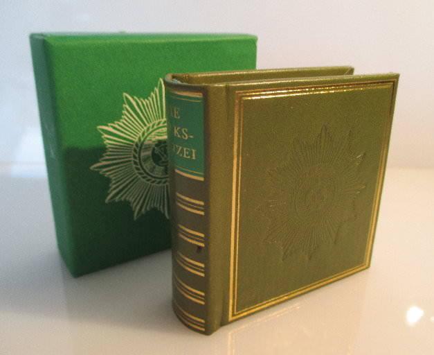 Minibuch: Die Volkspolizei 1979 Offizin Andersen Nexö Leipzig bu0164