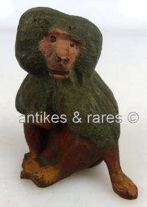 Altes Lineol Tier: Pavian (linol064)
