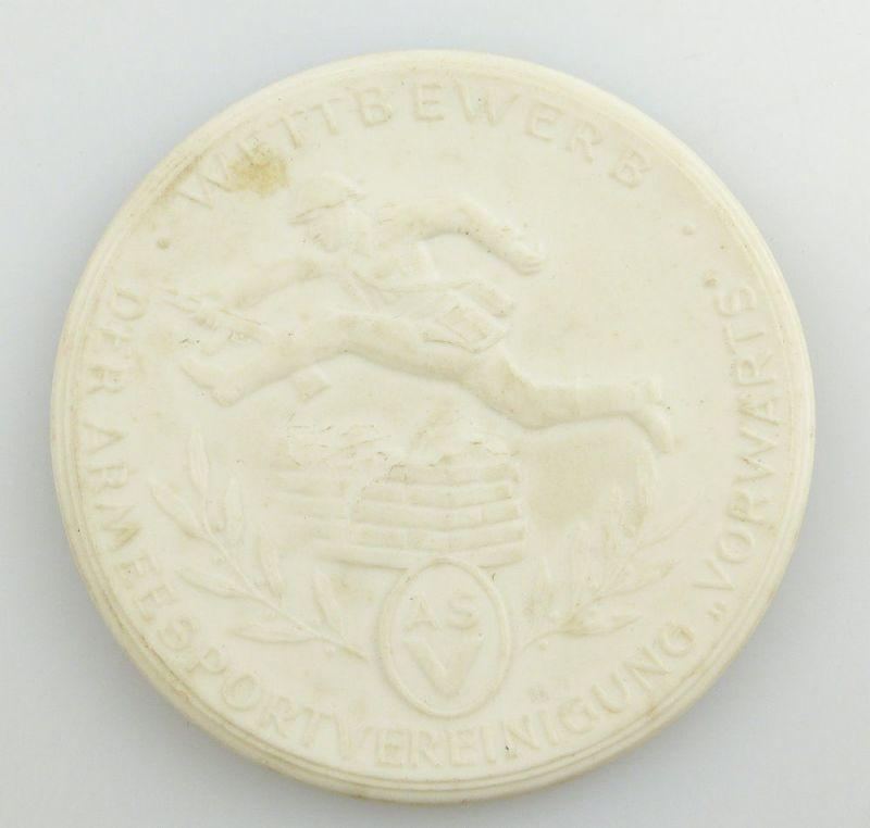 #e2811 DDR ASV Medaille Bester Sportler der Armeesportvereinigung