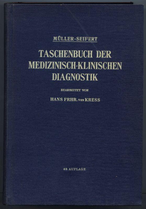 Taschenbuch der medizinisch-klinischen Diagnostik 1962