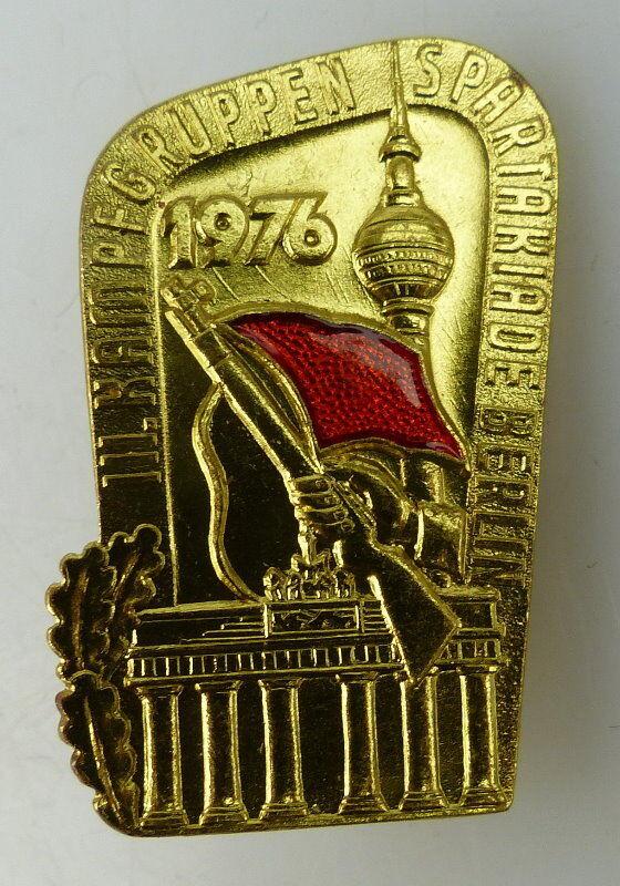 Abzeichen: 3. Kampfgruppenspartakiade Berlin 1976, Orden1609