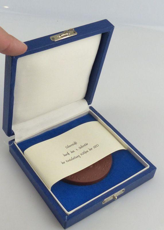 Medaille Meissen  : Johann Sebastian Bach Überreicht durch den 1.Sekretär/ r443