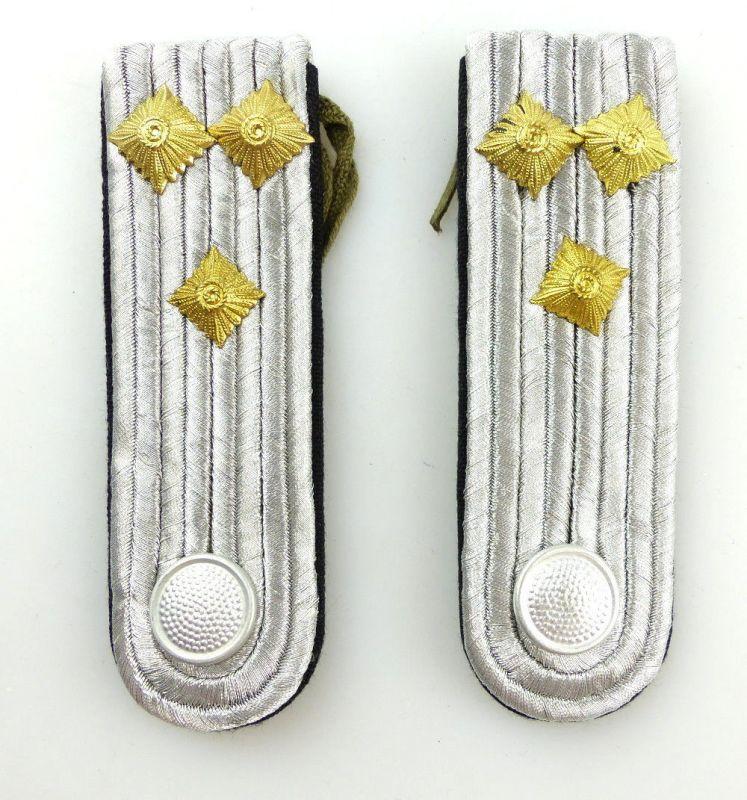 #e3562 1 Paar DDR NVA Schulterstücke Landstreitkräfte Pioniere Oberleutnant