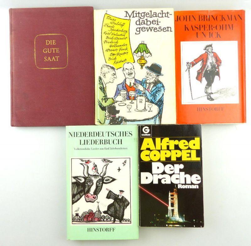5 Bücher: Die gute Saat, Der Drache Roman... e1274