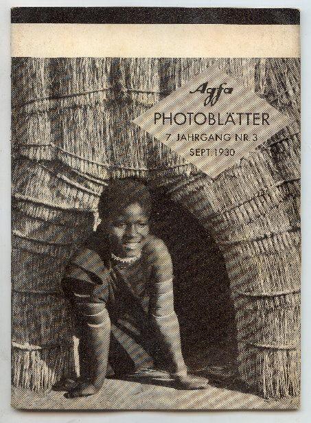AGFA Photoblätter 7. Jahrg. Nr. 3, September 1930 Buch0691