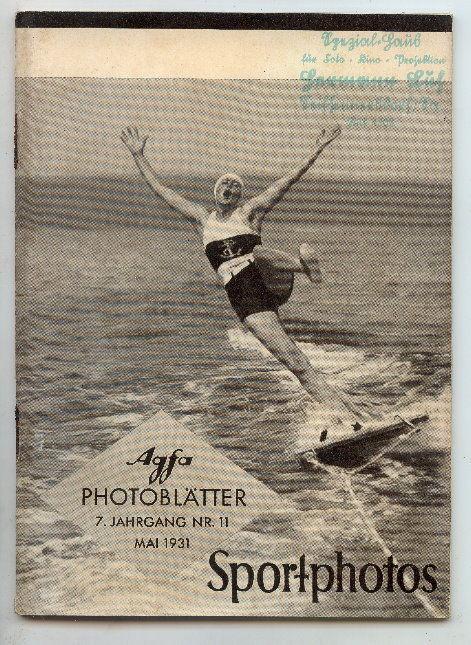 AGFA Photoblätter 7. Jahrg. Nr. 11, Mai 1931 Sportphoto Buch0689