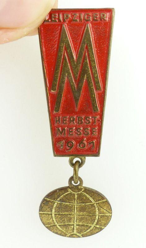 #e2442 Abzeichen MM Leipziger Messe /Herbstmesse 1961