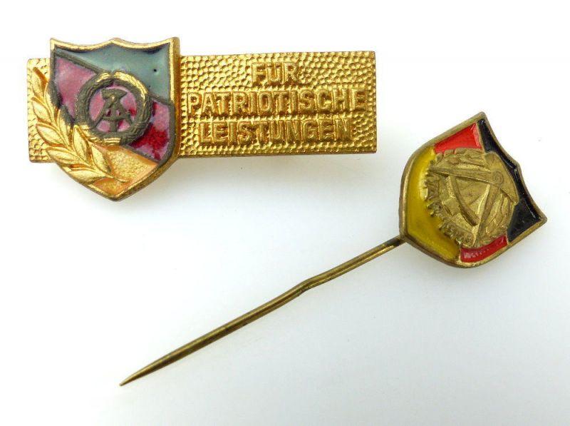 Abzeichen und Anstecknadel: NAW 1959, Für Patriotische Leistungen e1624
