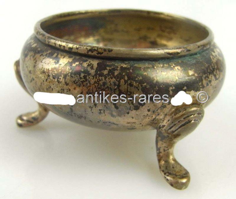 Alte Gründerzeit Salziere in 750 (Ag) Silber