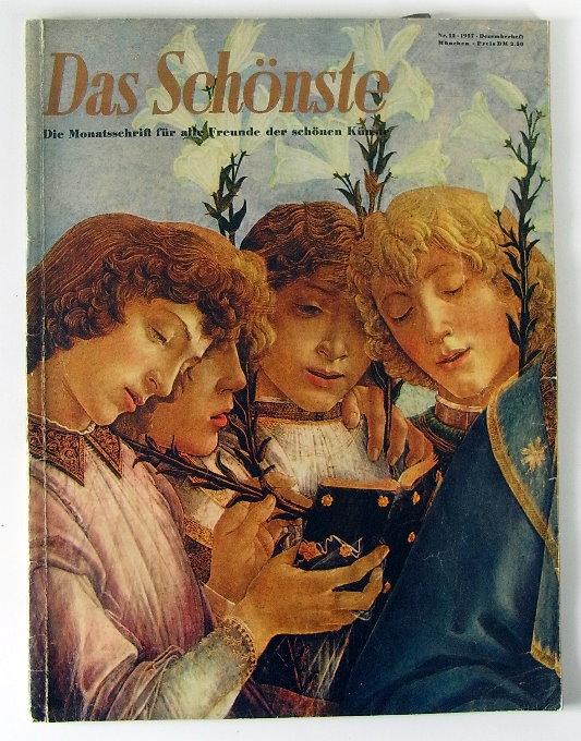 Monatsschrift: Das Schönste, schöne Kunst 1957