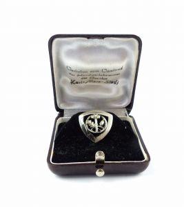 #e6498 PGH Ehrennadel DDR Ehrenmeister / Ehrenobermeister 835 Silber 50er Jahre