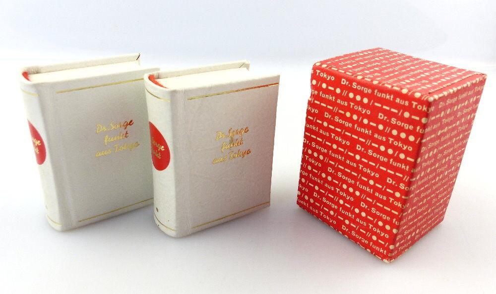 #e3182 2 Minibücher: Dr. Sorge funkt aus Tokyo Dr. Richard Sorge