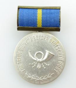#e5389 Treuedienstmedaille der Deutschen Post in Silber vgl. Band I Nr. 181 a