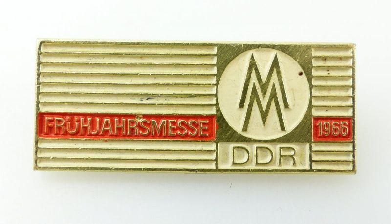 #e2429 Leipziger Frühjahrsmesse MM DDR 1966 Abzeichen