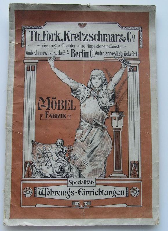 Zeitschrift: Möbel Fabrik von Th.Fork.Kretzschmar & Co.