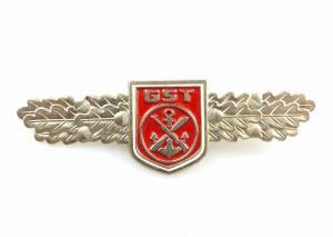#e5381 Qualifizierungsabzeichen GST rot Mot.Schütze, Fallschirmjäger, Nr. 32 c