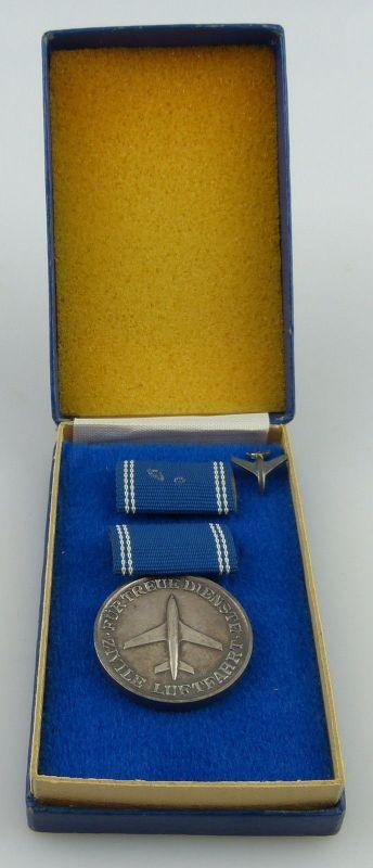 Medaille für treue Dienste in der zivilen Luftfahrt Silber Nr. 190 b, Orden2589