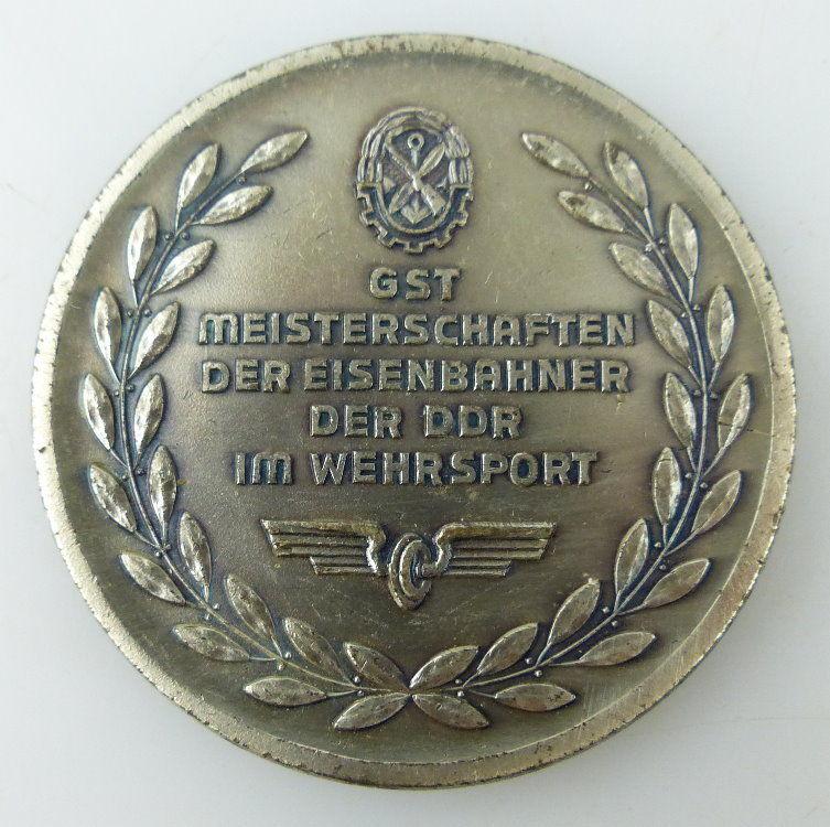 Medaille: GST Meisterschaften der Eisenbahner der DDR im Wehrsport, Orden1559