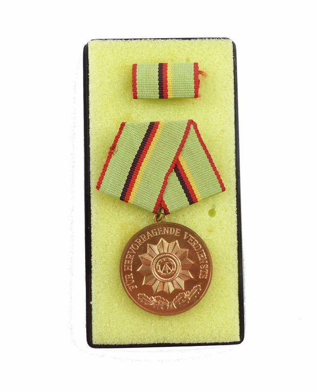 #e6483 Verdienstmedaille der Organe des Ministeriums des Innern Bronze Nr. 213 b