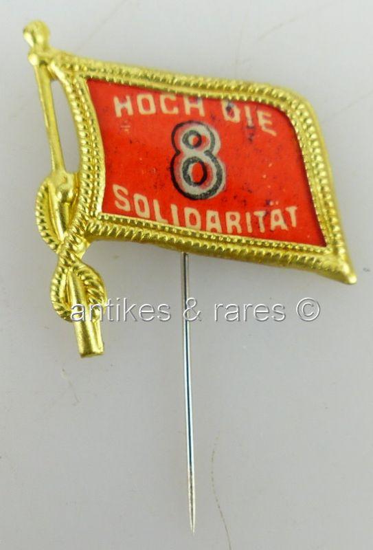 SPD KPD Abzeichen 8 Stunden Tag Abzeichen ca. 1910 (Orden774)
