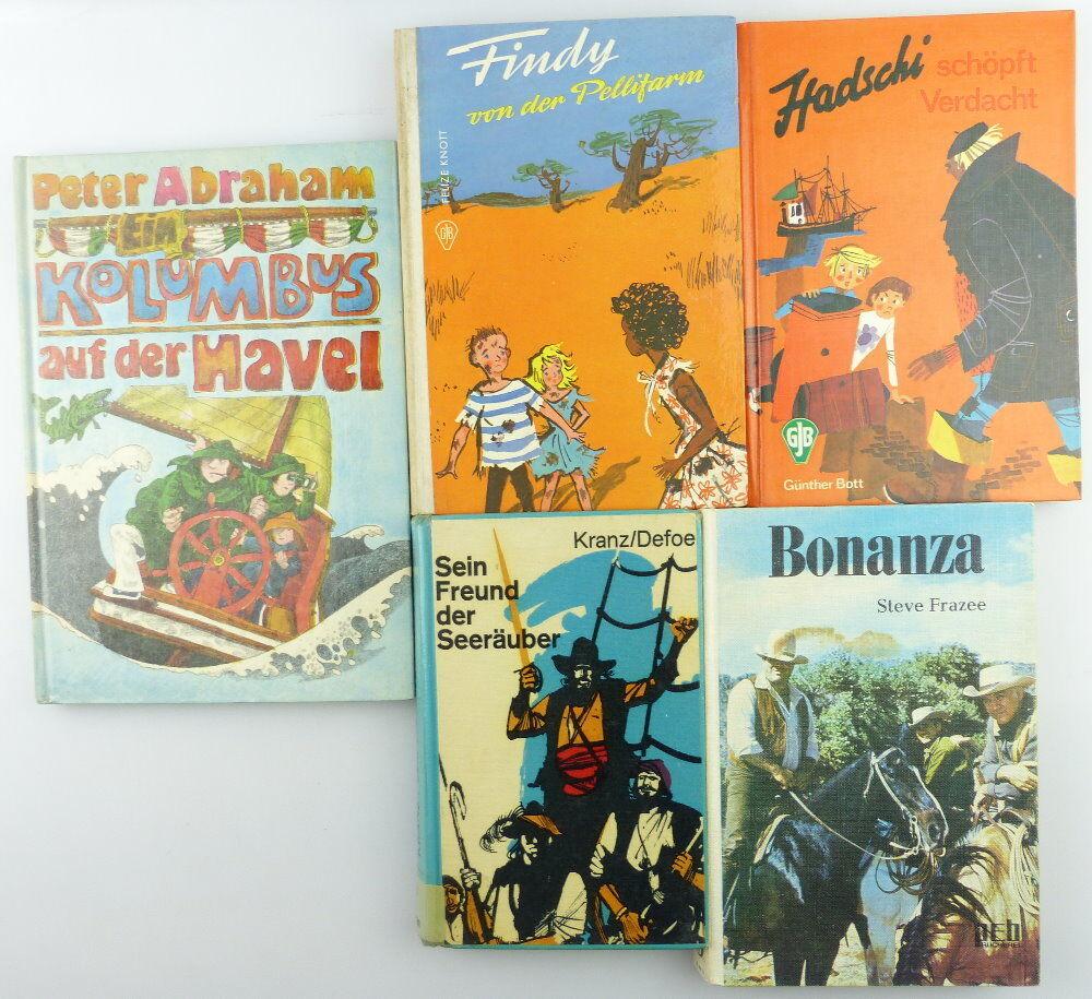 5 Kinderbücher /Jugendbücher: Bonanza, sein Freund der Seeräuber e939