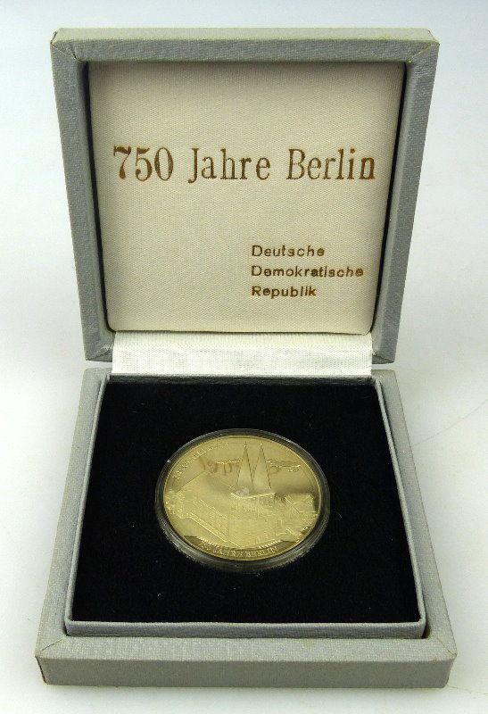 Medaille 750 Jahre Berlin Nicolaikirche Das älteste Siegel