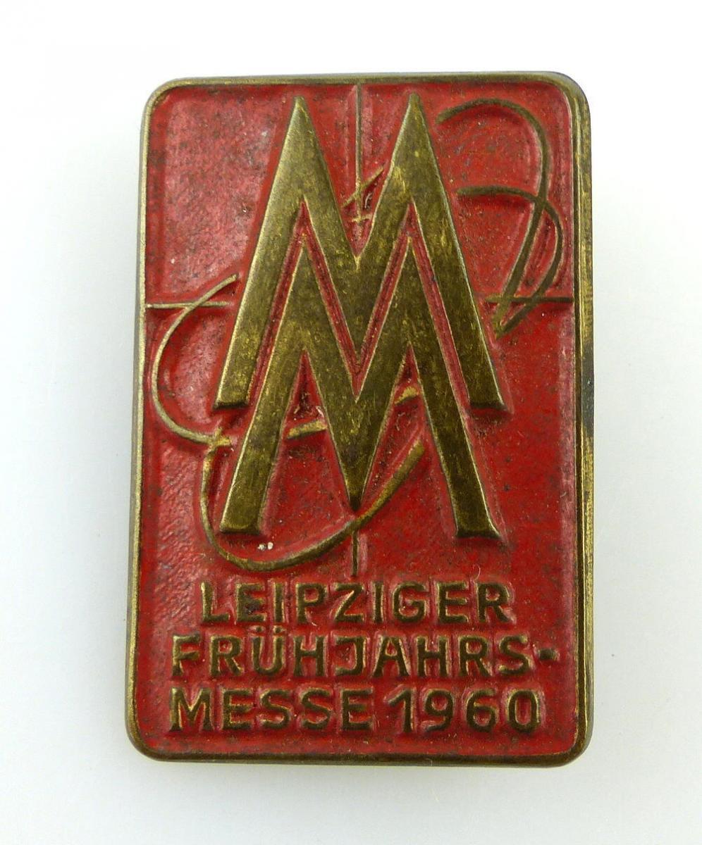 #e2414 MM Leipziger Frühjahrsmesse 1960 Abzeichen DDR