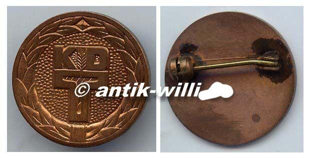 DDR Ehrennadel in Bronze der KDT (Kammer der Technik)