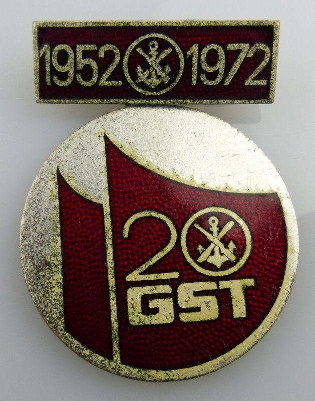 Abzeichen 20 Jahre GST 1952-1972 Orden1978