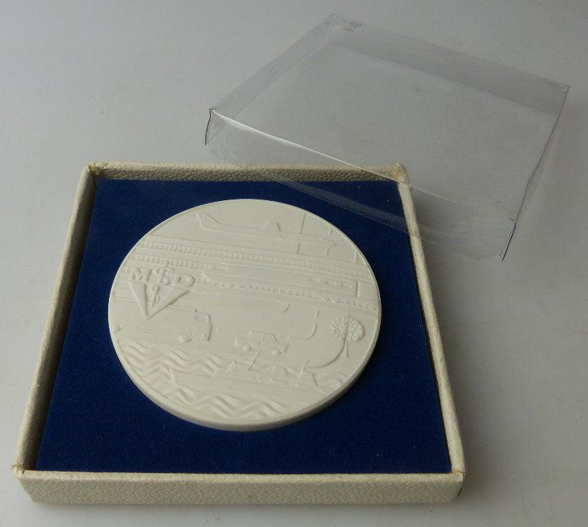 Meissen Medaille: 20 Jahre Mediz. Dienst des Verkehrswesens der DDR, Orden1513