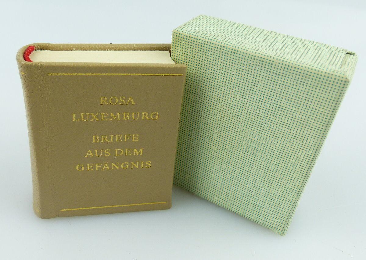 Minibuch: Rosa Luxenburg / Briefe aus dem Gefängnis Dietz Verlag 1971 / r063
